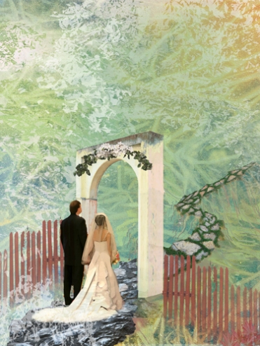 Wedding Day Painting - small